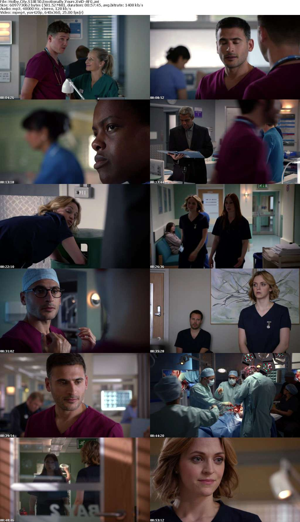 Holby City S18E50 Emotionally Yours XviD-AFG