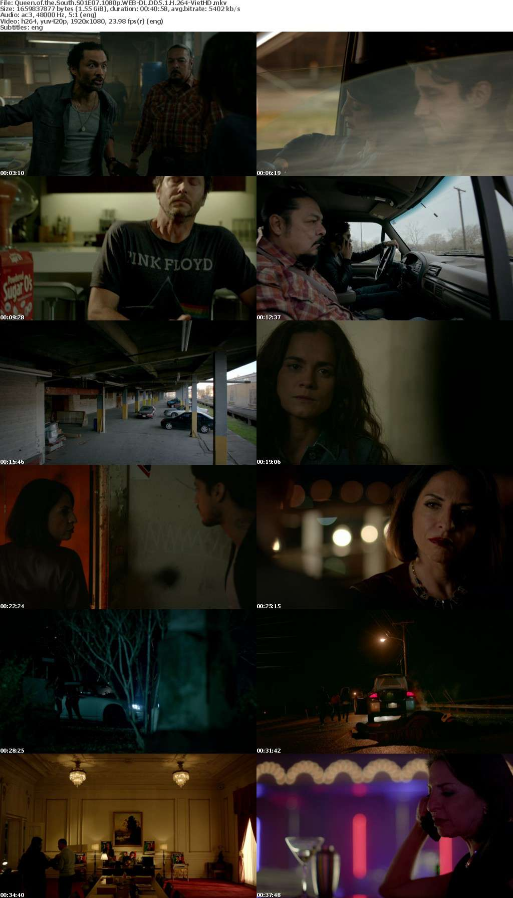Queen of the South S01 1080p WEB-DL DD5 1 H 264-VietHD