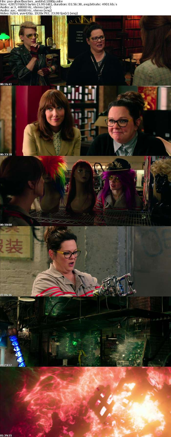 Ghostbusters German DL AC3 Dubbed 1080p WebHD h264-PsO
