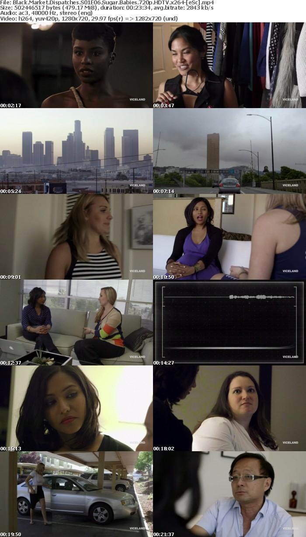Black Market Dispatches S01E06 Sugar Babies 720p HDTV x264-[eSc]