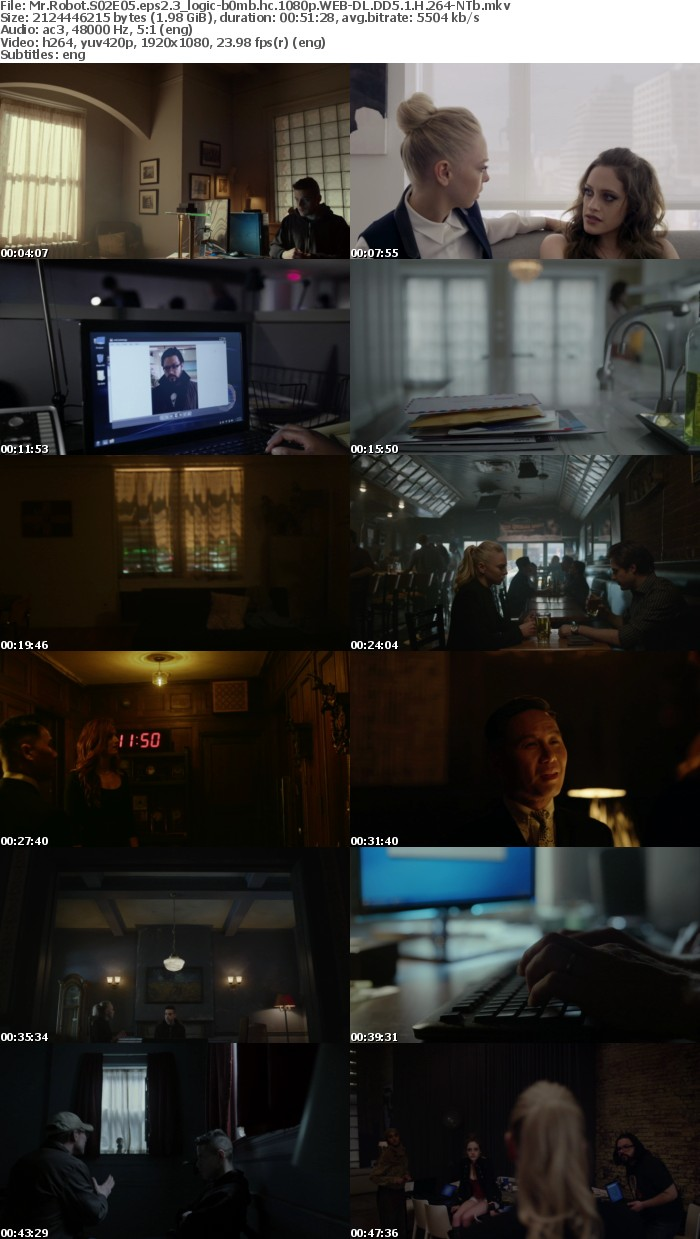 Mr Robot S02 1080p WEB-DL DD5 1 H 264-NTb