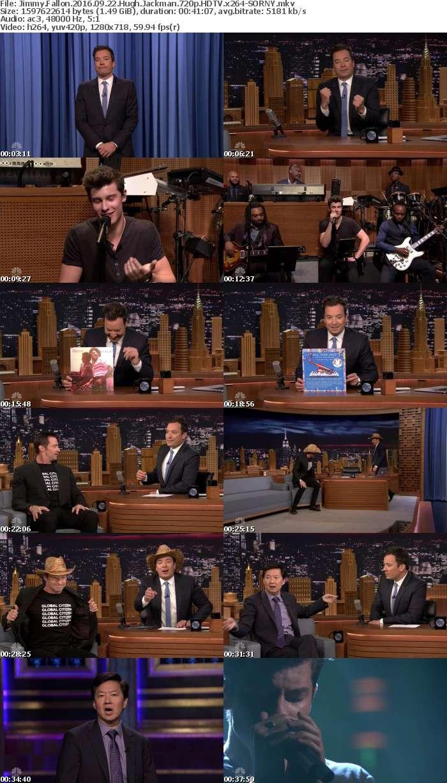 Jimmy Fallon 2016 09 22 Hugh Jackman 720p HDTV x264-SORNY