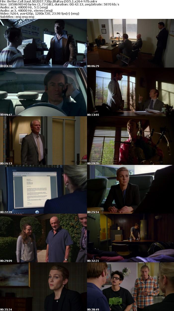 Better Call Saul S02 720p BluRay DD5 1 x264-NTb