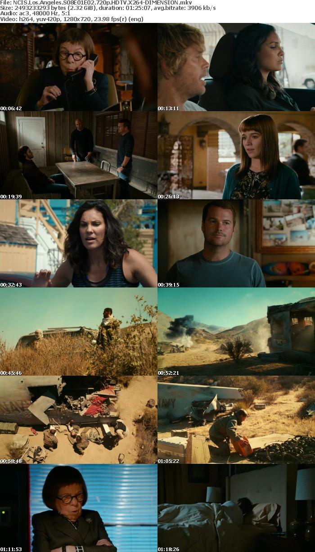 NCIS Los Angeles S08E01E02 720p HDTV X264-DIMENSION