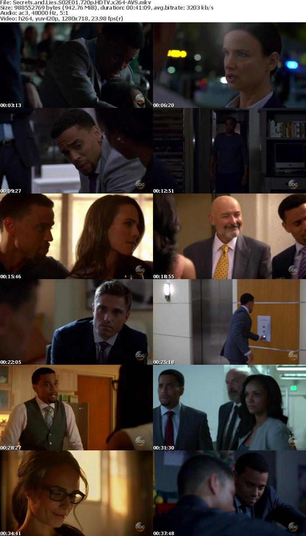 Secrets and Lies S02E01 720p HDTV x264-AVS