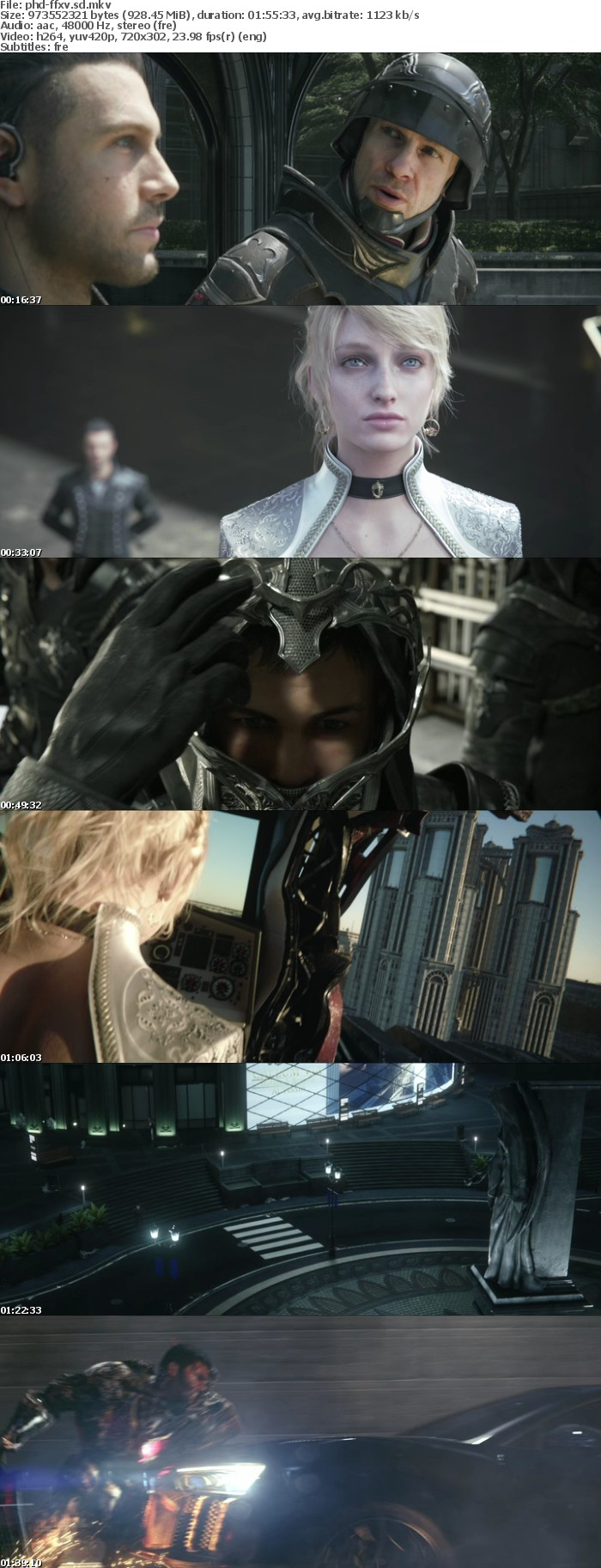 Kingsglaive Final Fantasy XV 2016 FRENCH BDRip x264-PRiDEHD