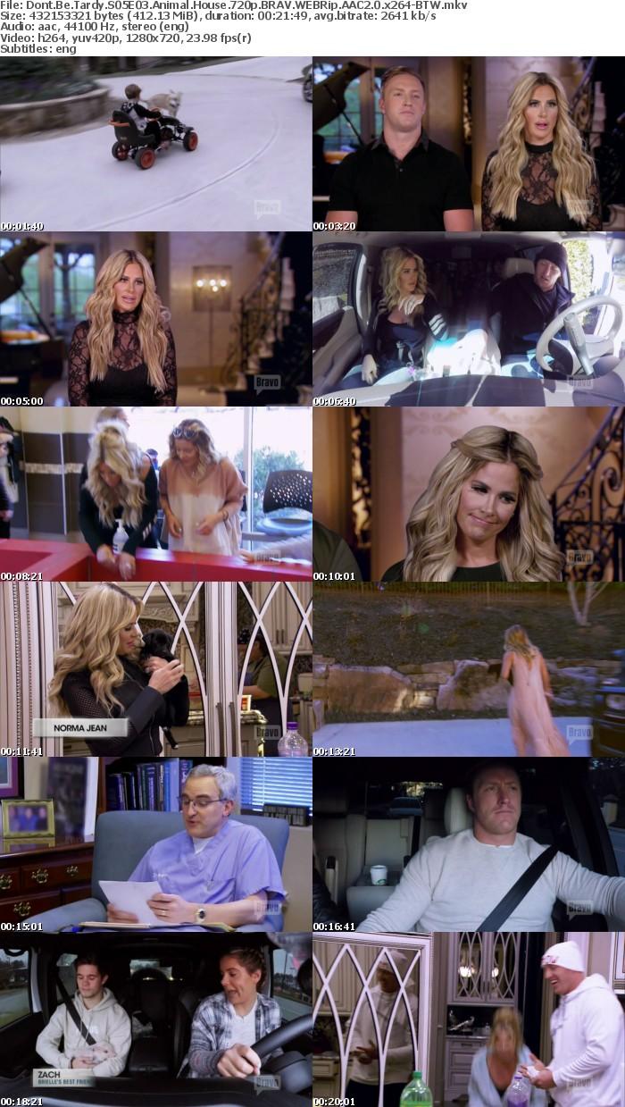 Dont Be Tardy S05E03 Animal House 720p BRAV WEBRip AAC2 0 x264-BTW