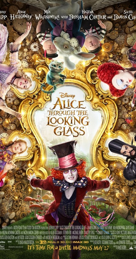 Alice Through the Looking Glass 2016 720p BluRay x264 DTS-iFT
