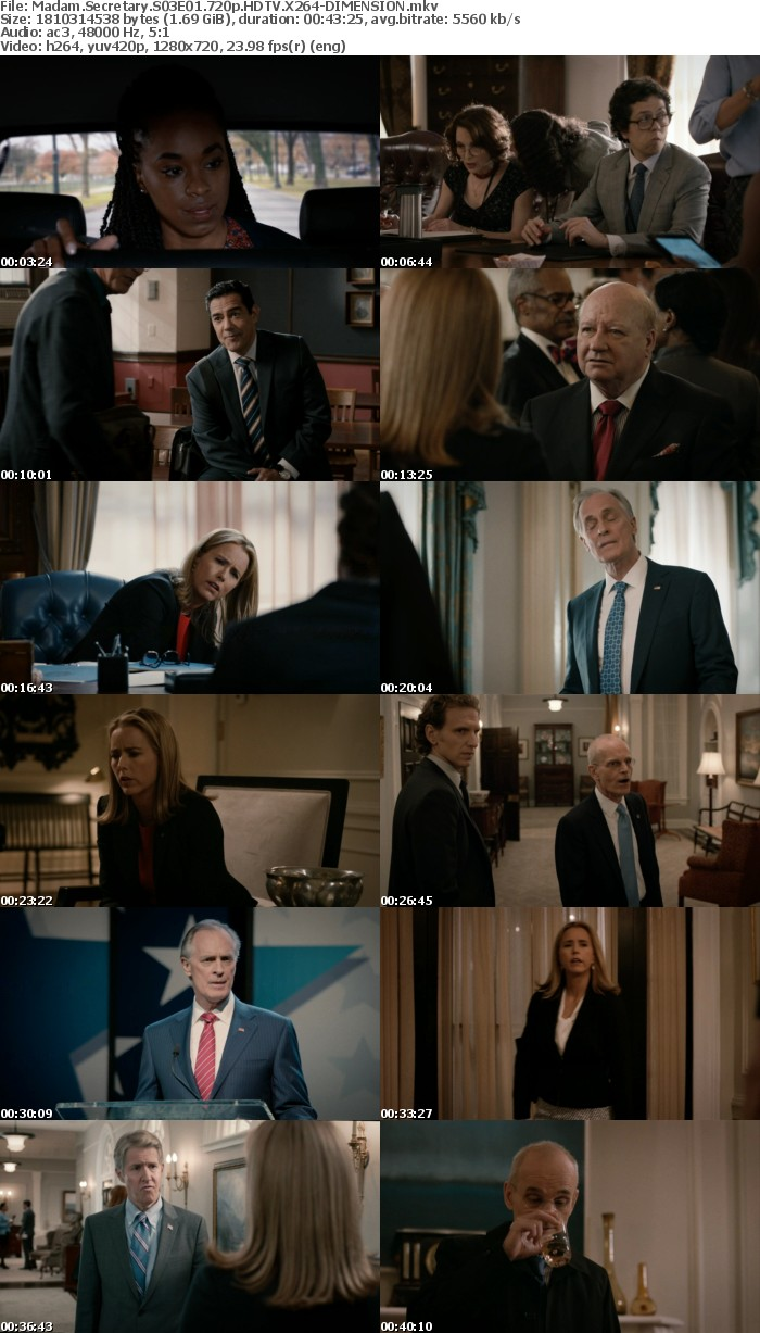 Madam Secretary S03E01 720p HDTV X264-DIMENSION