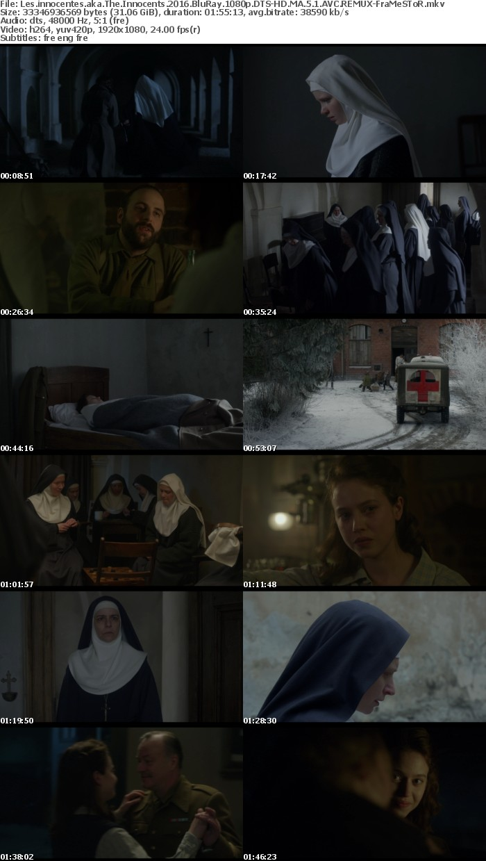 [French]Les innocentes aka The Innocents 2016 BluRay 1080p DTS-HD MA 5 1 AVC REMUX-FraMeSToR