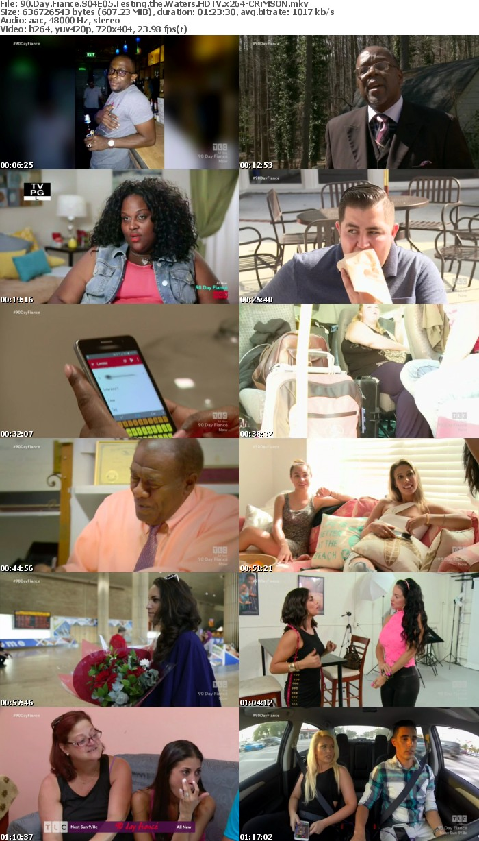 90 Day Fiance S04E05 Testing the Waters HDTV x264-CRiMSON