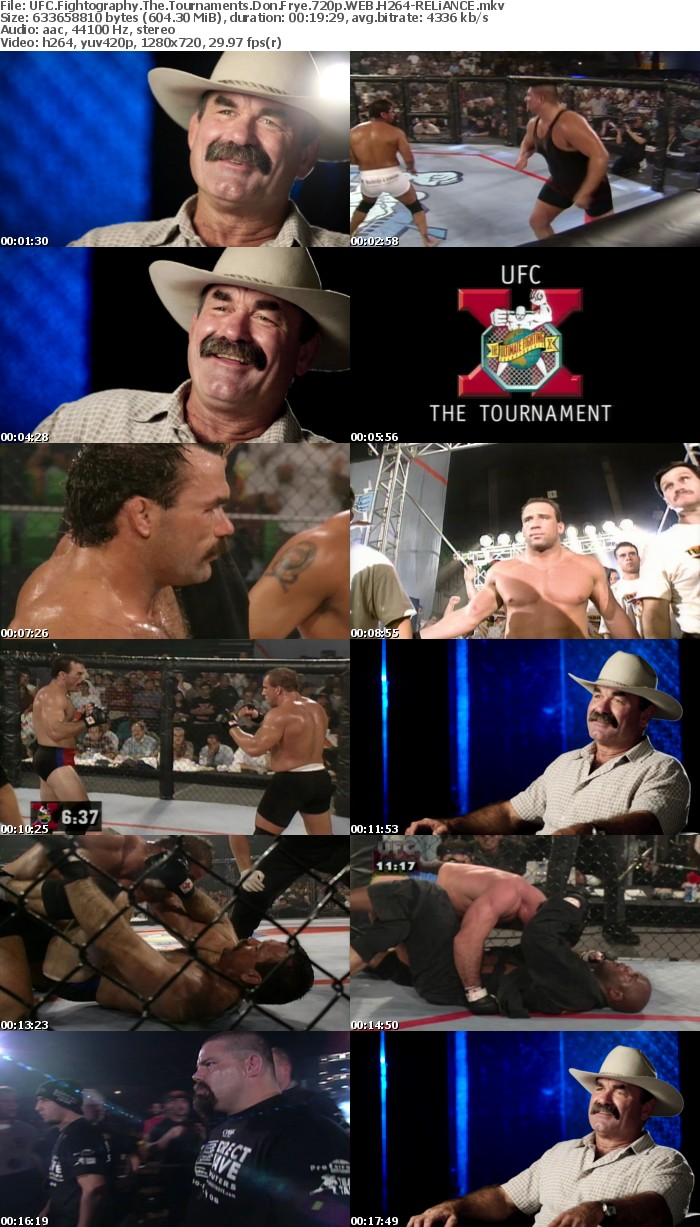 UFC Fightography The Tournaments Don Frye 720p WEB H264-RELiANCE