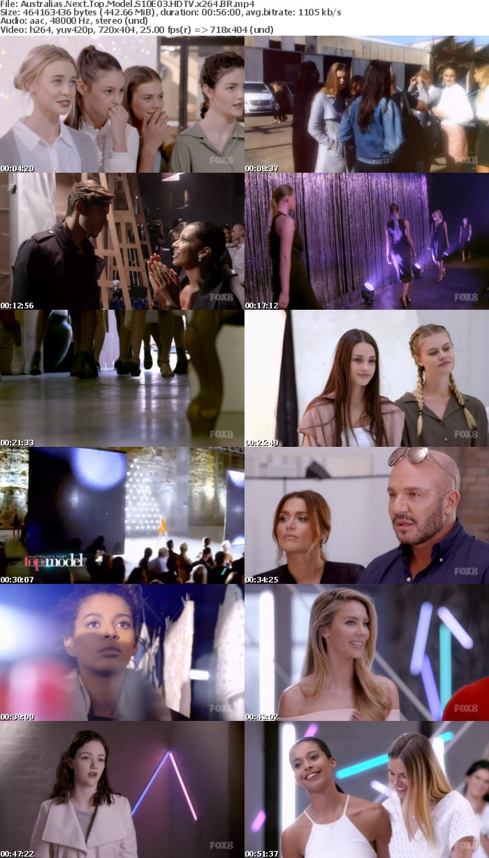Australias Next Top Model S10E03 HDTV x264 BR