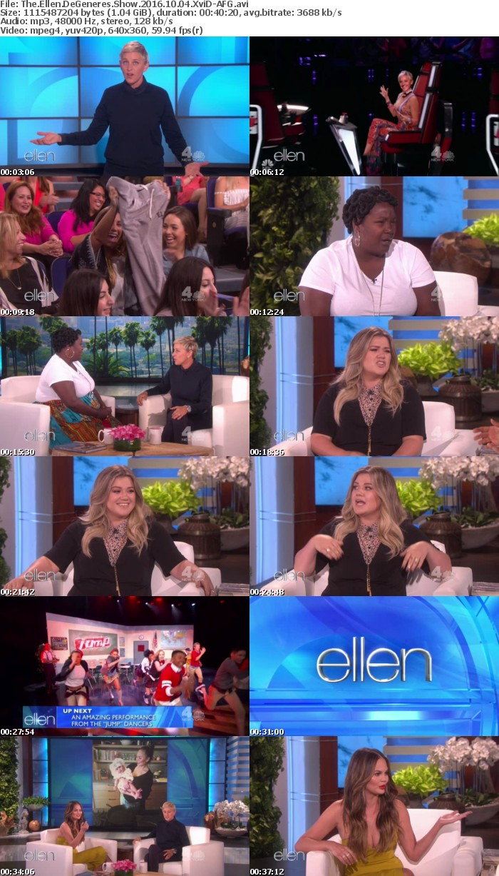 The Ellen DeGeneres Show 2016 10 04 XviD-AFG