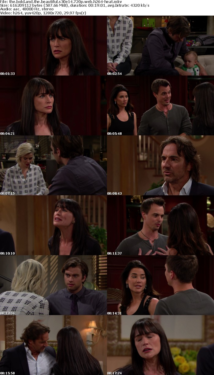 The Bold and the Beautiful S30E14 720p WEB h264-HEAT