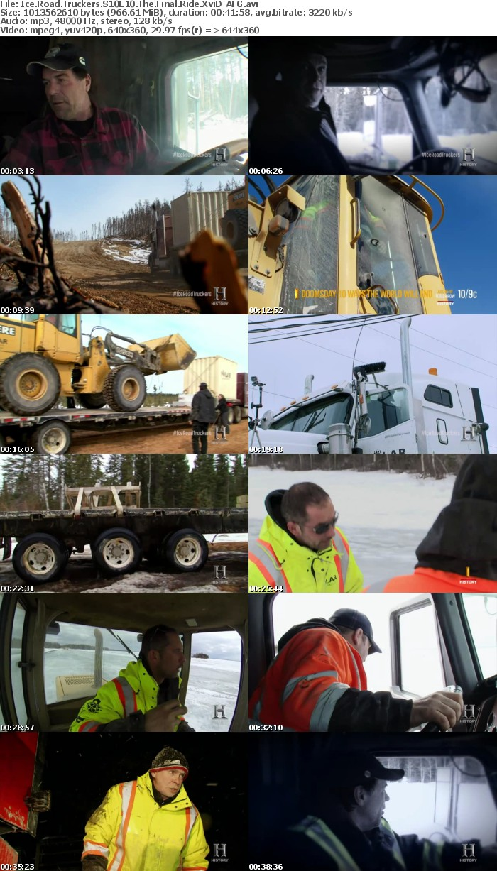 Ice Road Truckers S10E10 The Final Ride XviD-AFG