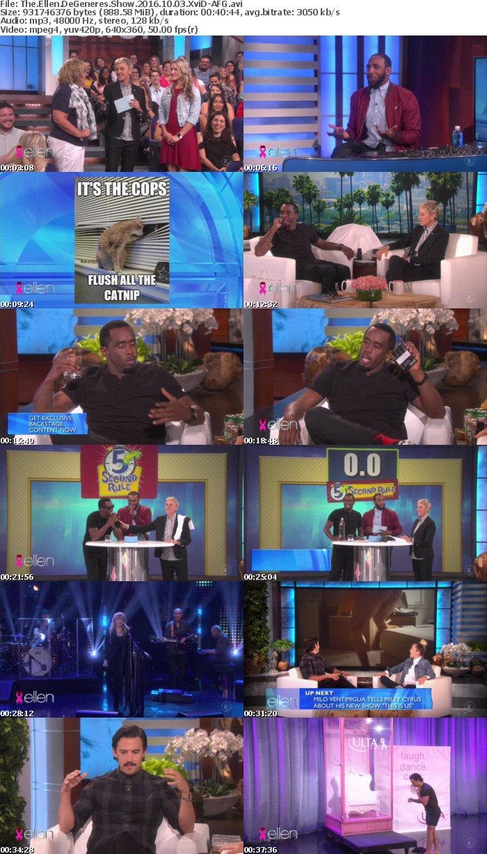 The Ellen DeGeneres Show 2016 10 03 XviD-AFG
