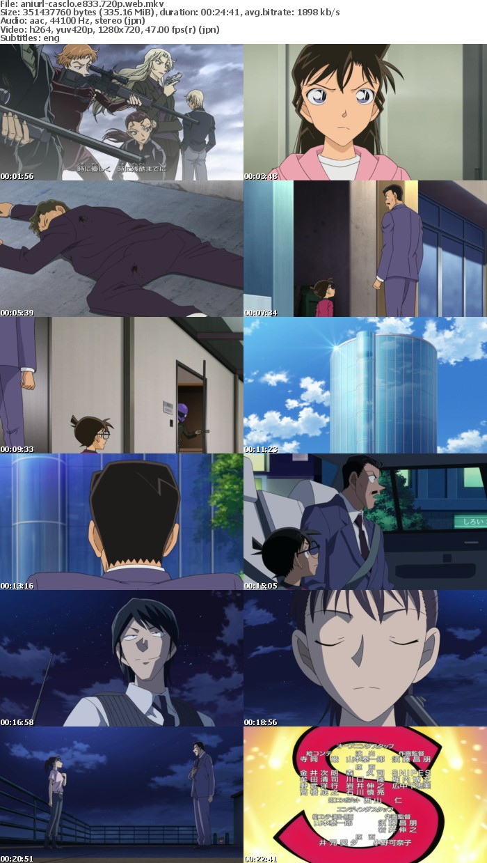 Case Closed E833 720p WEB x264-ANiURL