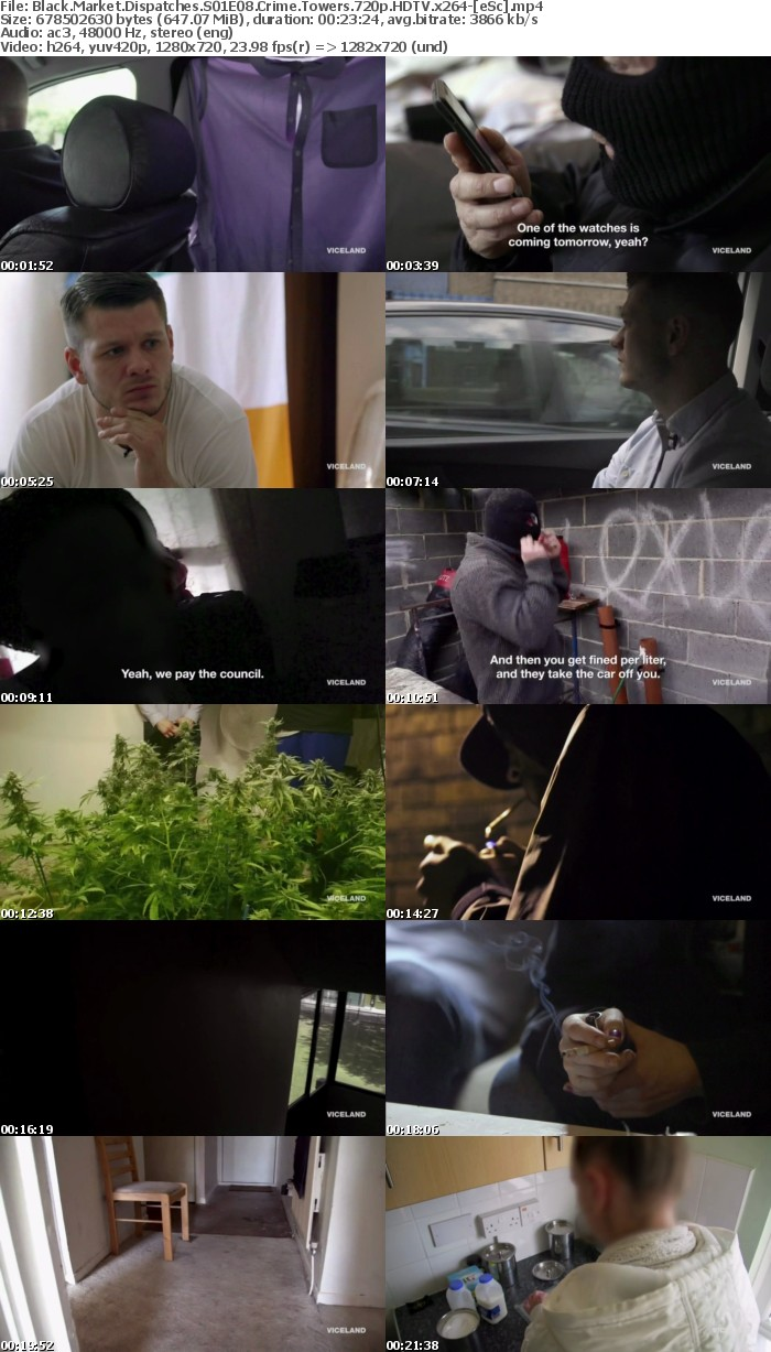 Black Market Dispatches S01E08 Crime Towers 720p HDTV x264-[eSc]