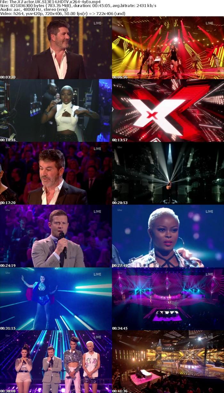 The X Factor UK S13E14 HDTV x264 4yEo