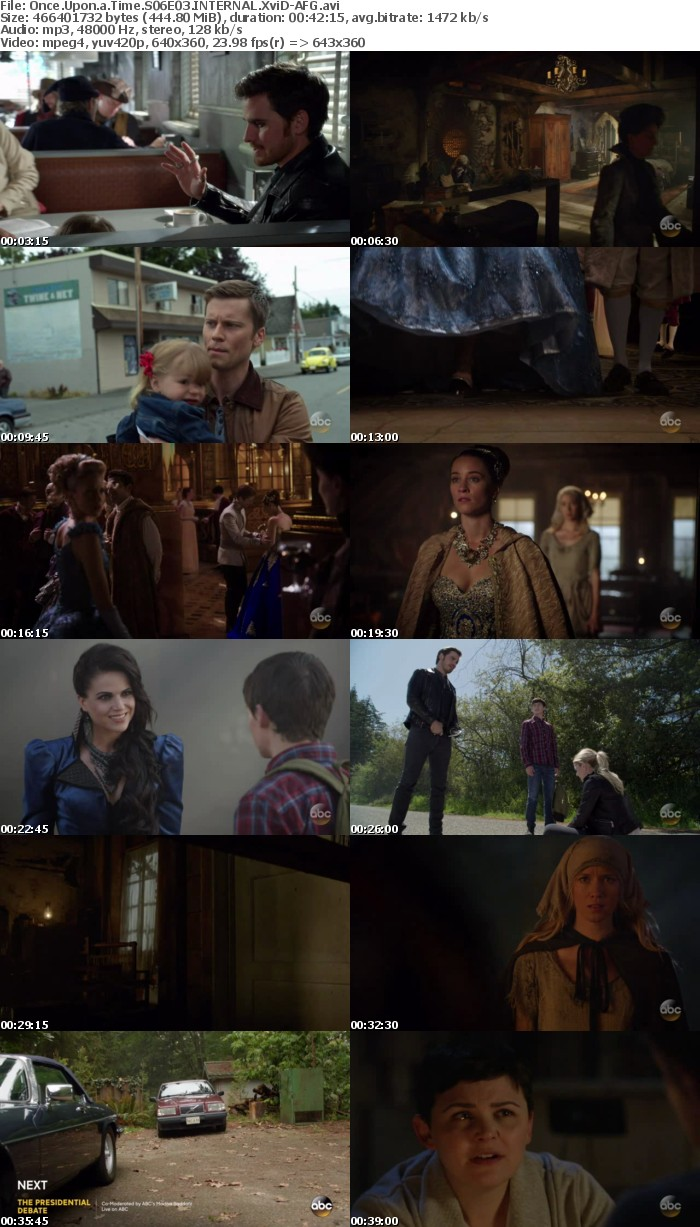 Once Upon a Time S06E03 INTERNAL XviD-AFG