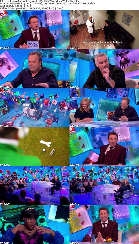 Duck Quacks Dont Echo UK S05E07 720p HDTV x264-C4TV