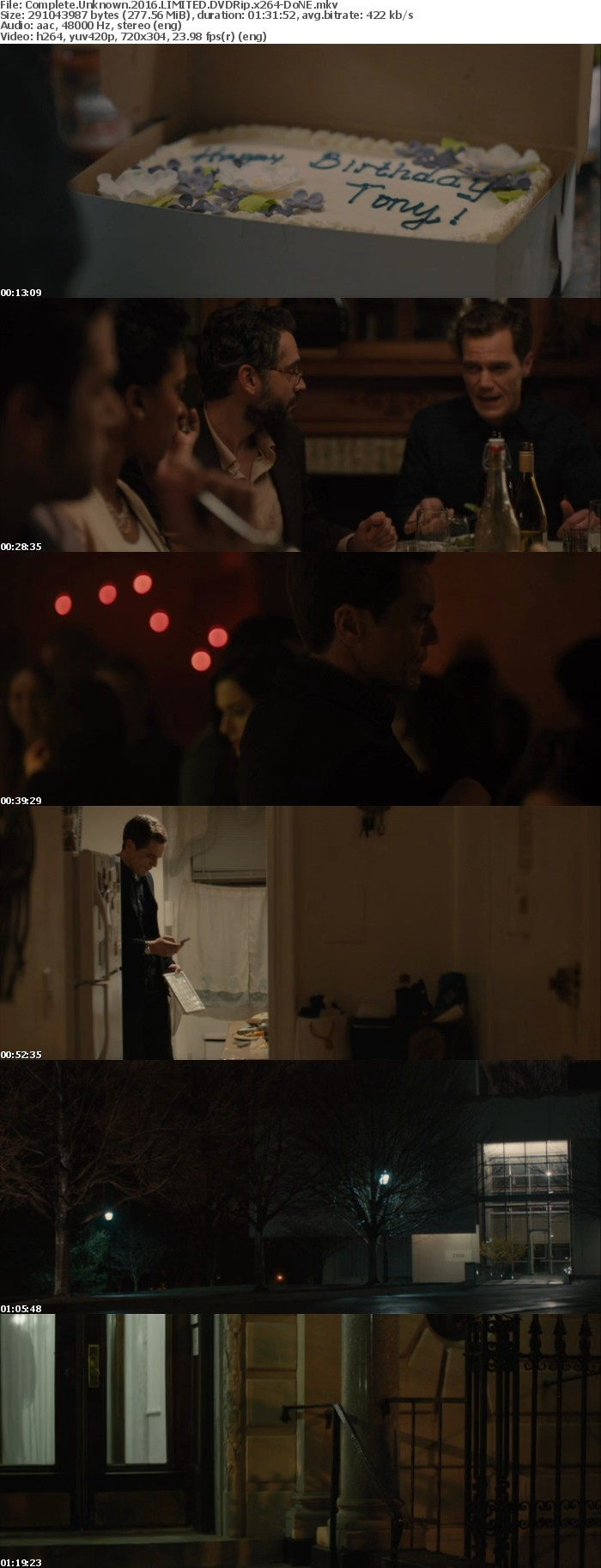 Complete Unknown 2016 LIMITED DVDRip x264-DoNE