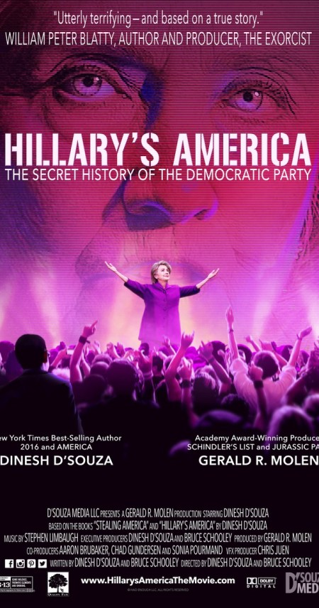 Hillary's America The Secret History of the Democratic Party (2016) [720p/ VOB] BOOTY