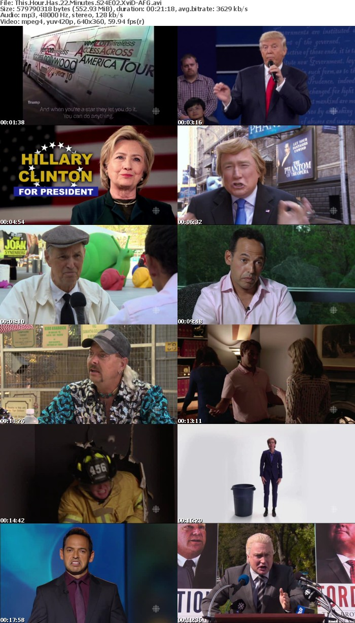This Hour Has 22 Minutes S24E02 XviD-AFG