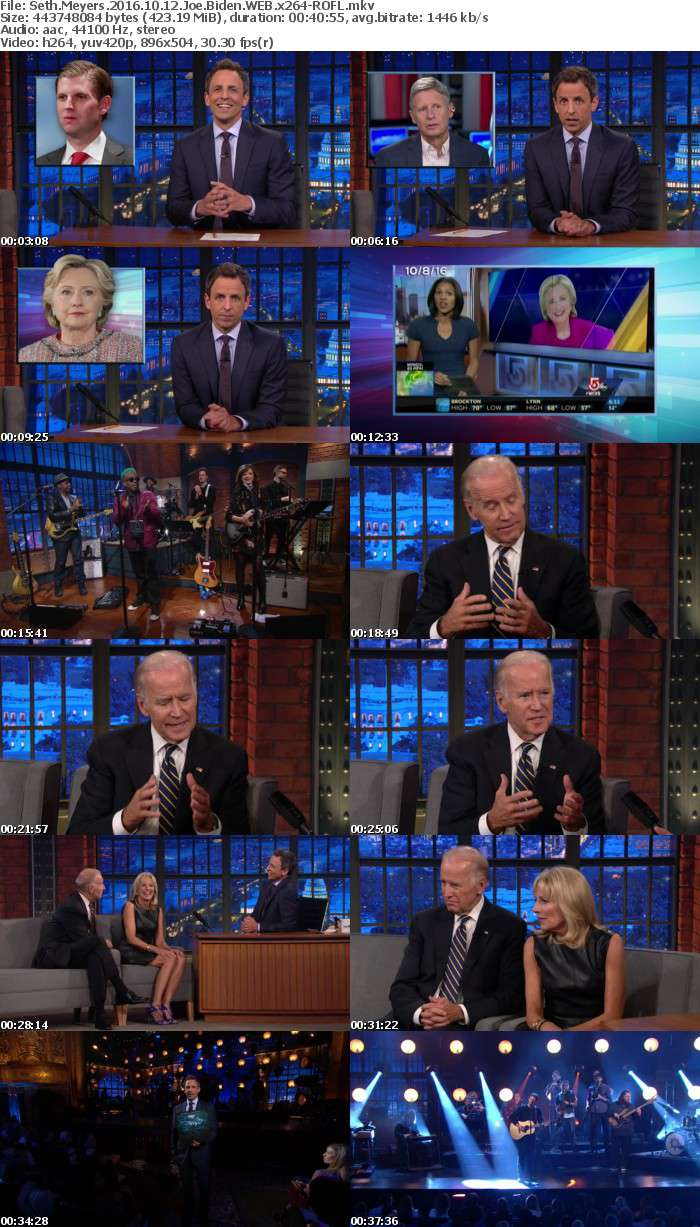 Seth Meyers 2016 10 12 Joe Biden WEB x264-ROFL