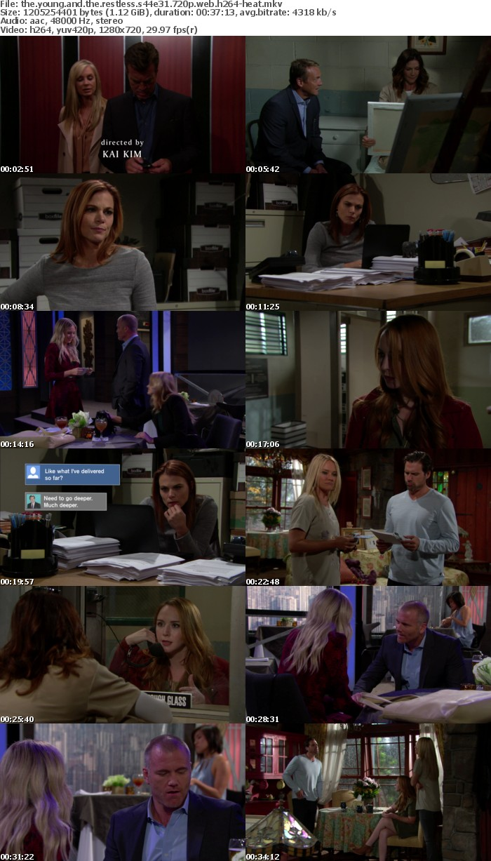 The Young and the Restless S44E31 720p WEB h264-HEAT