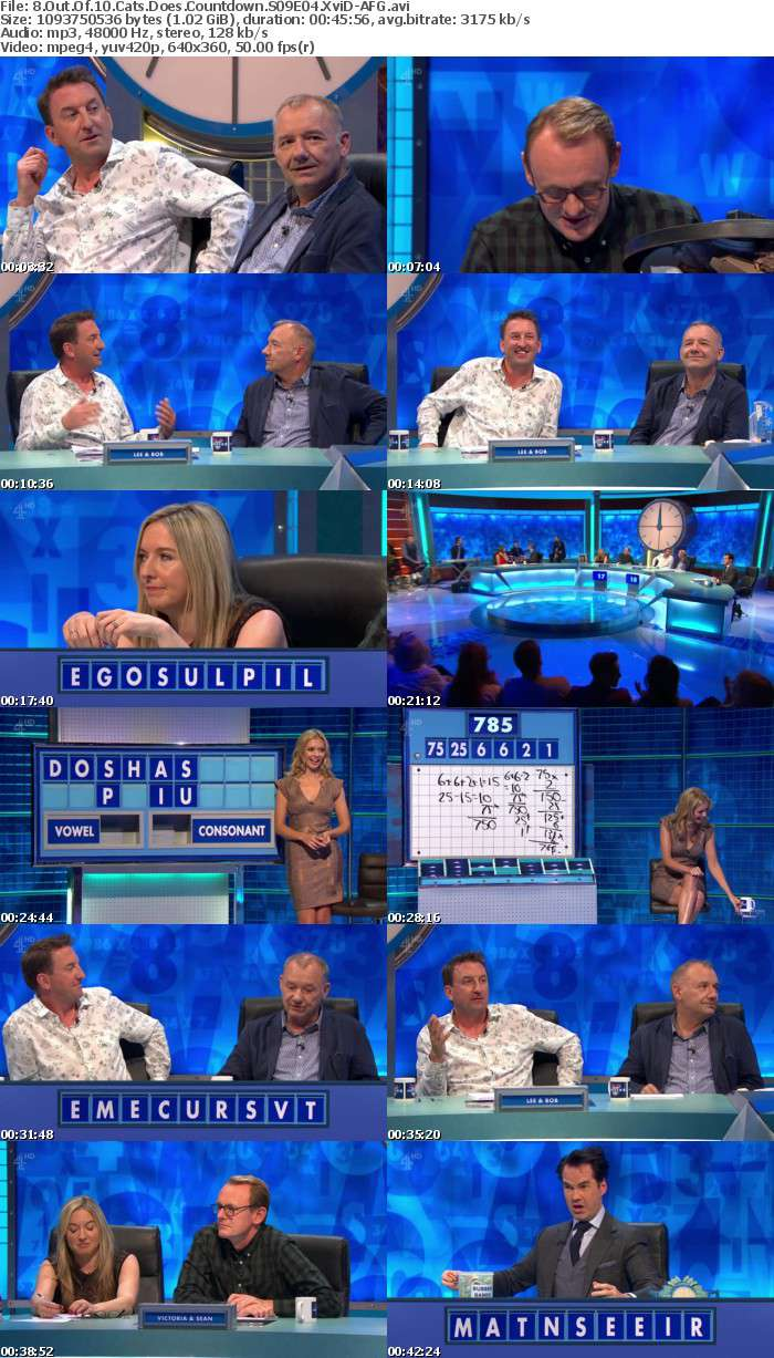 8 Out Of 10 Cats Does Countdown S09E04 XviD-AFG