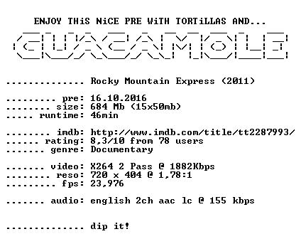 Rocky Mountain Express 2011 BDRiP x264-GUACAMOLE