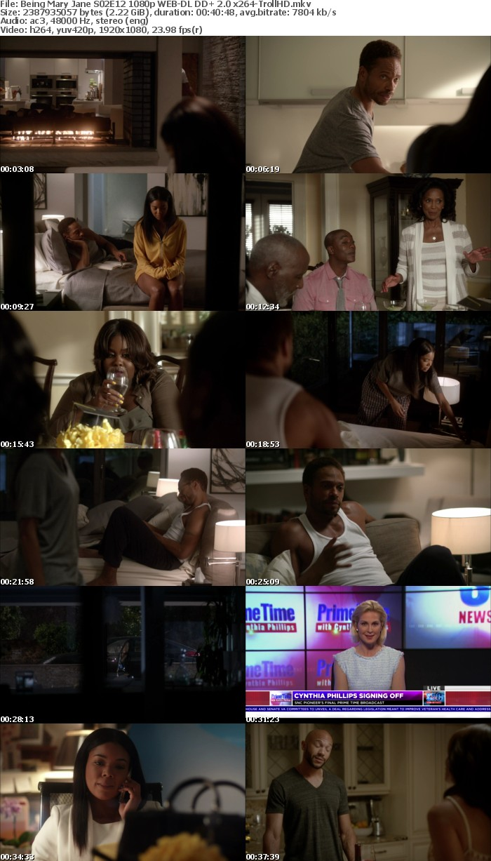 Being Mary Jane S02 1080p WEB-DL DD+ 2 0 x264-TrollHD