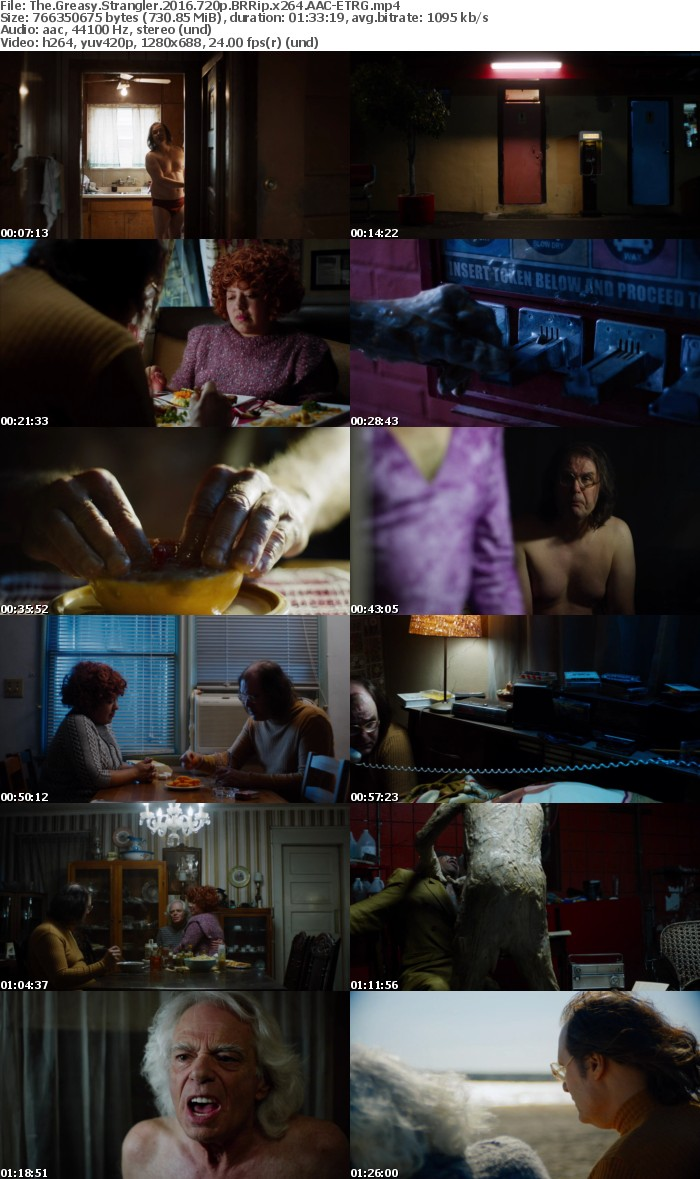 The Greasy Strangler 2016 720p BRRip X264 AAC-ETRG