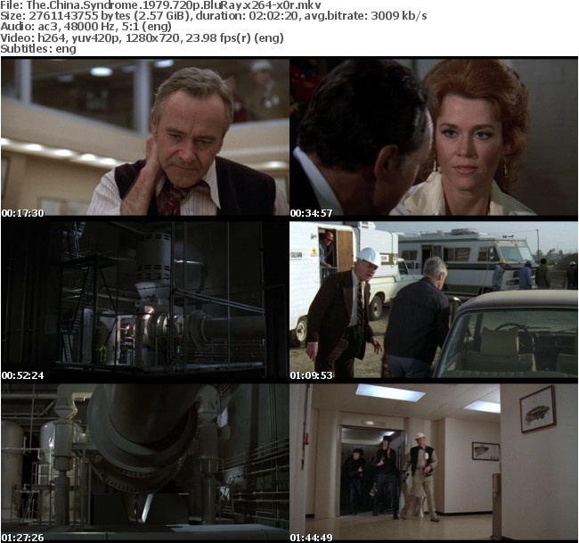 The China Syndrome 1979 720p BRRip x264-x0r