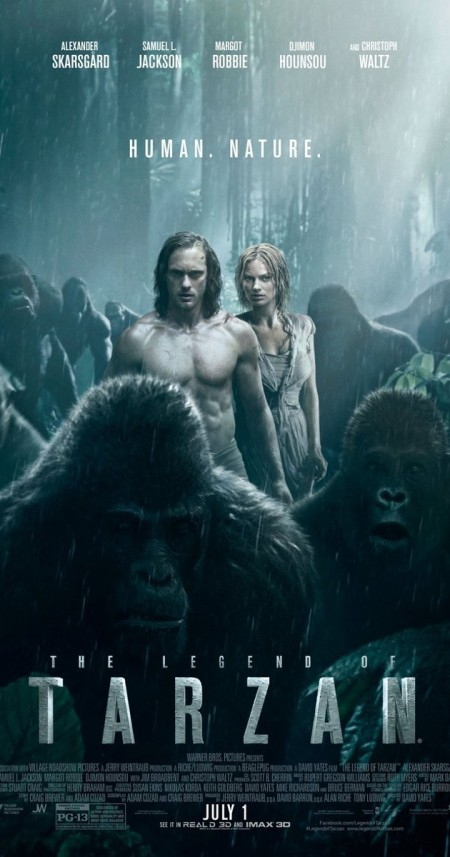 The Legend Of Tarzan 2016 720p BRRIP X264 AC3-Z