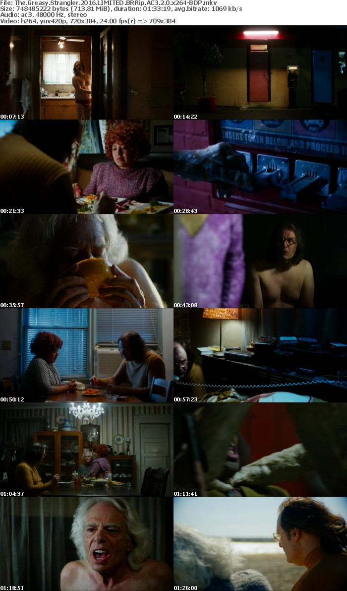 The Greasy Strangler 2016 LIMITED BRRip AC3 2 0 x264-BDP
