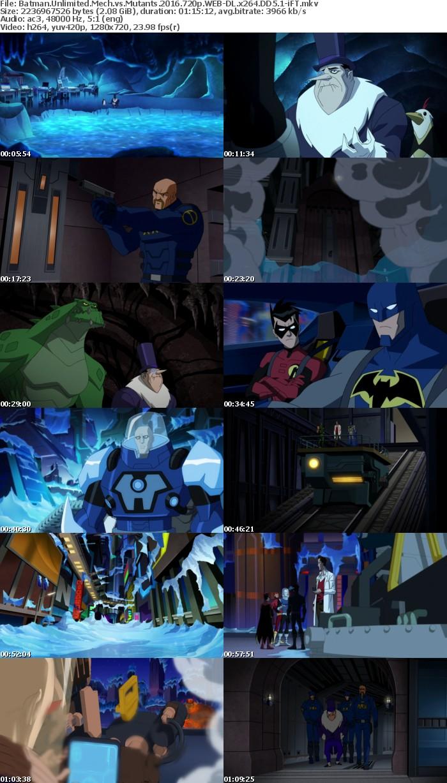 Batman Unlimited Mech vs Mutants 2016 720p WEB-DL x264 DD5 1-iFT