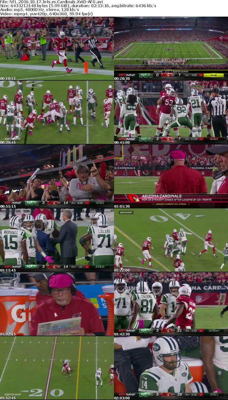 NFL 2016 10 17 Jets vs Cardinals XviD-AFG