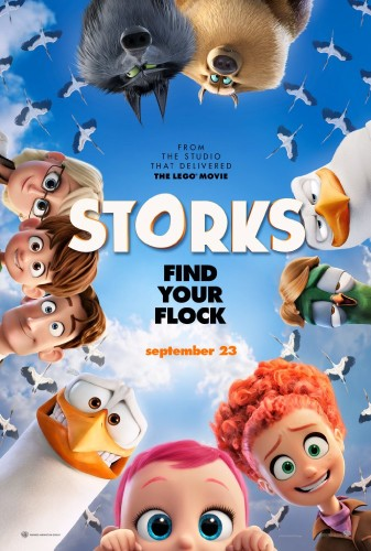 Storks (2016) 720p Microhd Brrip Aac X264-nightripper