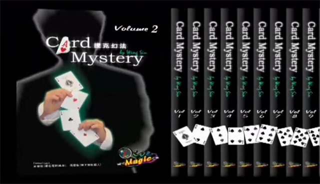 Card Mystery by Live Magic ( 10 DVD SET ) ( Upload 1-2-3-4-5 )