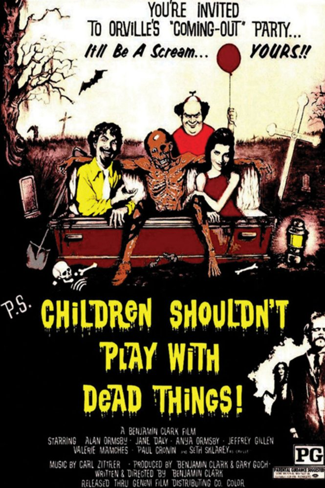 Children Shouldnt Play with Dead Things 1972 BDRip x264VoMiT