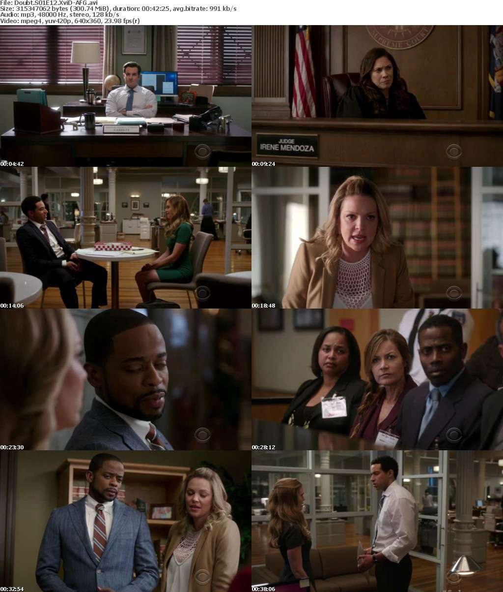Doubt S01E12 XviD-AFG