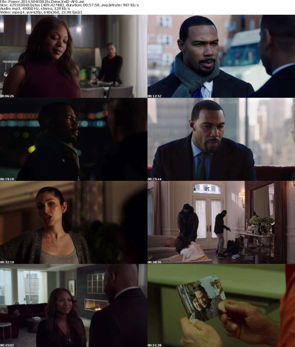 Power 2014 S04E08 Its Done XviD-AFG