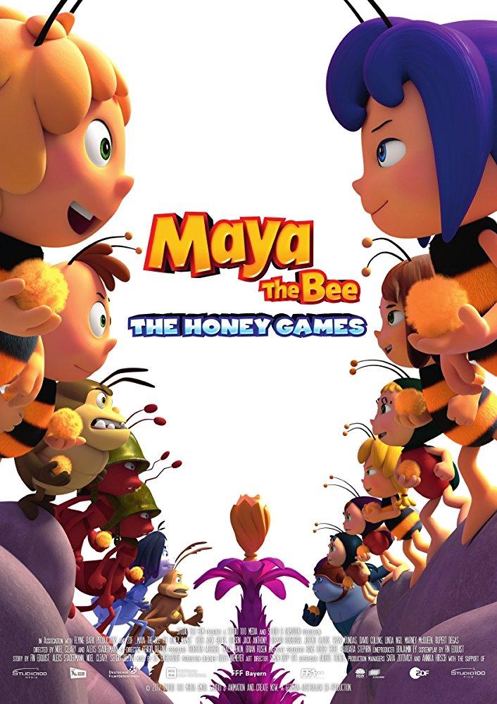 Maya the Bee 2 The Honey Games 2018 HDRip XviD AC3-EVO