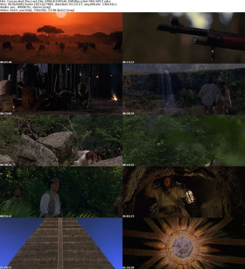 Tarzan And The Lost City 1998 iNTERNAL DVDRip x264-MULTiPLY