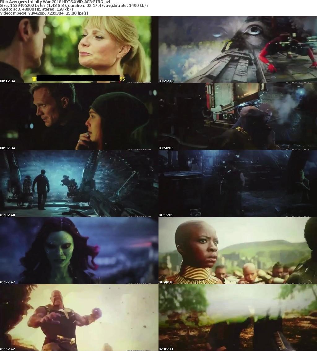 Avengers Infinity War 2018 HDTS XViD AC3-ET