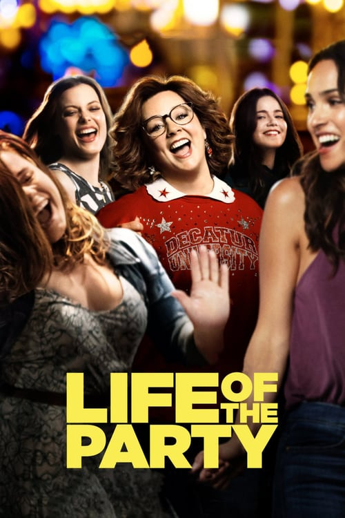 Life Of The Party 2018 1080p WEB-DL H264 AC3-EVO