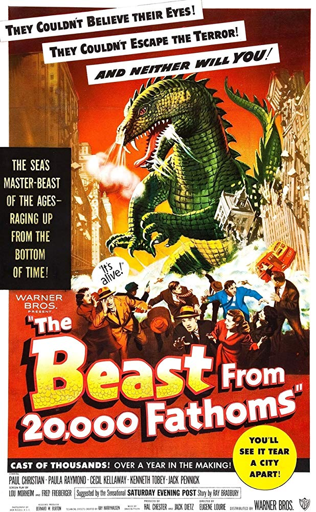 The Beast from 20000 Fathoms 1953 720p BluRay x264-x0r
